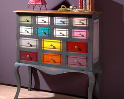 Commode Arlequin