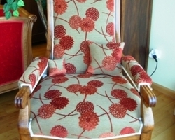 Confort du siège - HELFRANTZKIRCH - NOS RÉALISATIONS - FAUTEUIL - VOLTAIRE